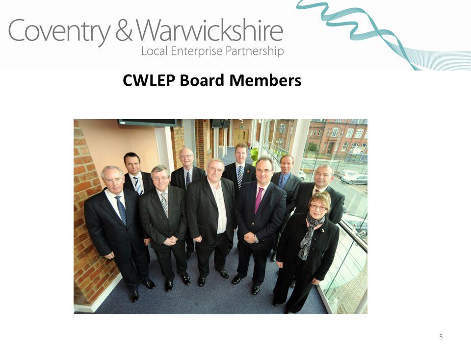 5 CWLEP Board Members