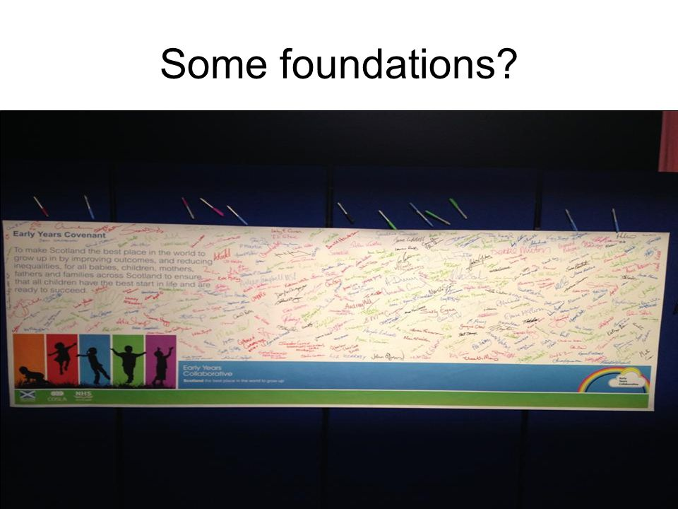 Some foundations?