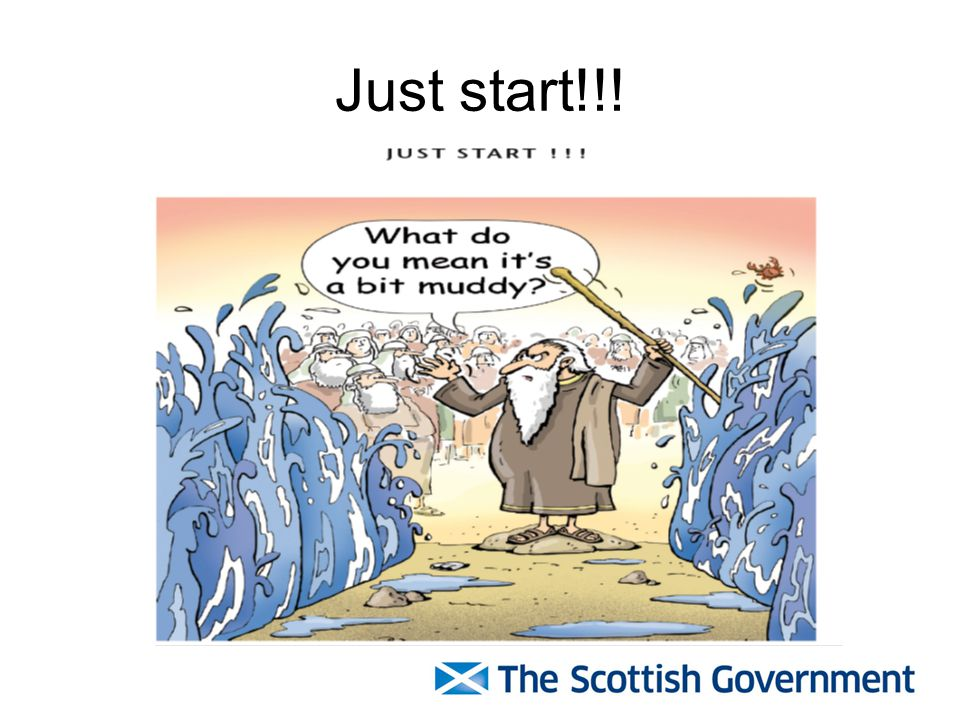 Just start!!!