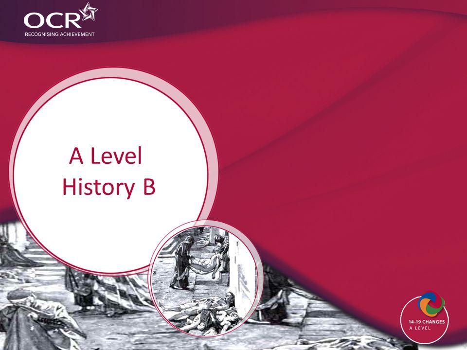 A Level History B