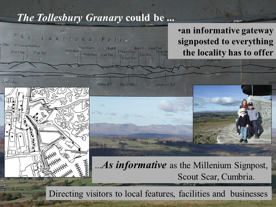 The Tollesbury Granary could be......