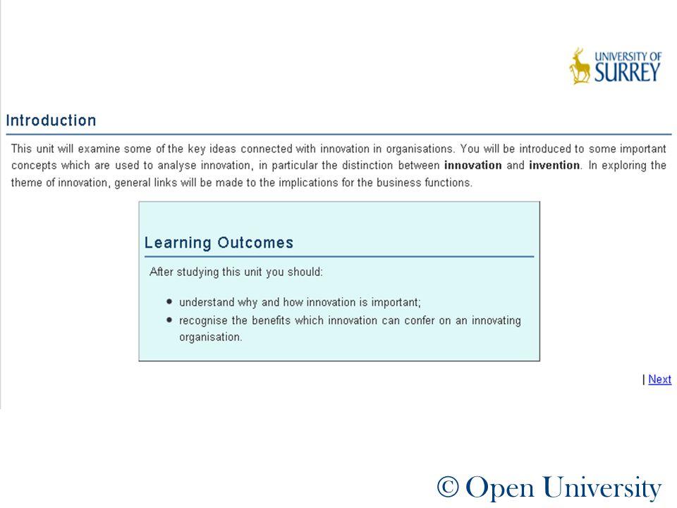 © Open University