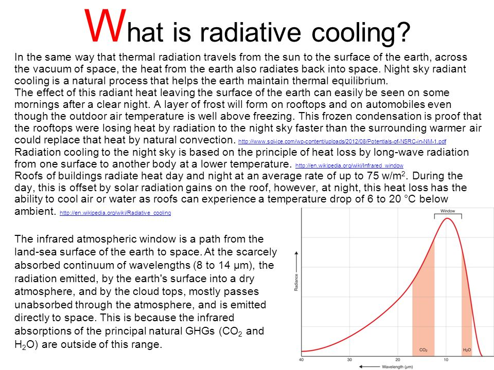 W hat is radiative cooling.