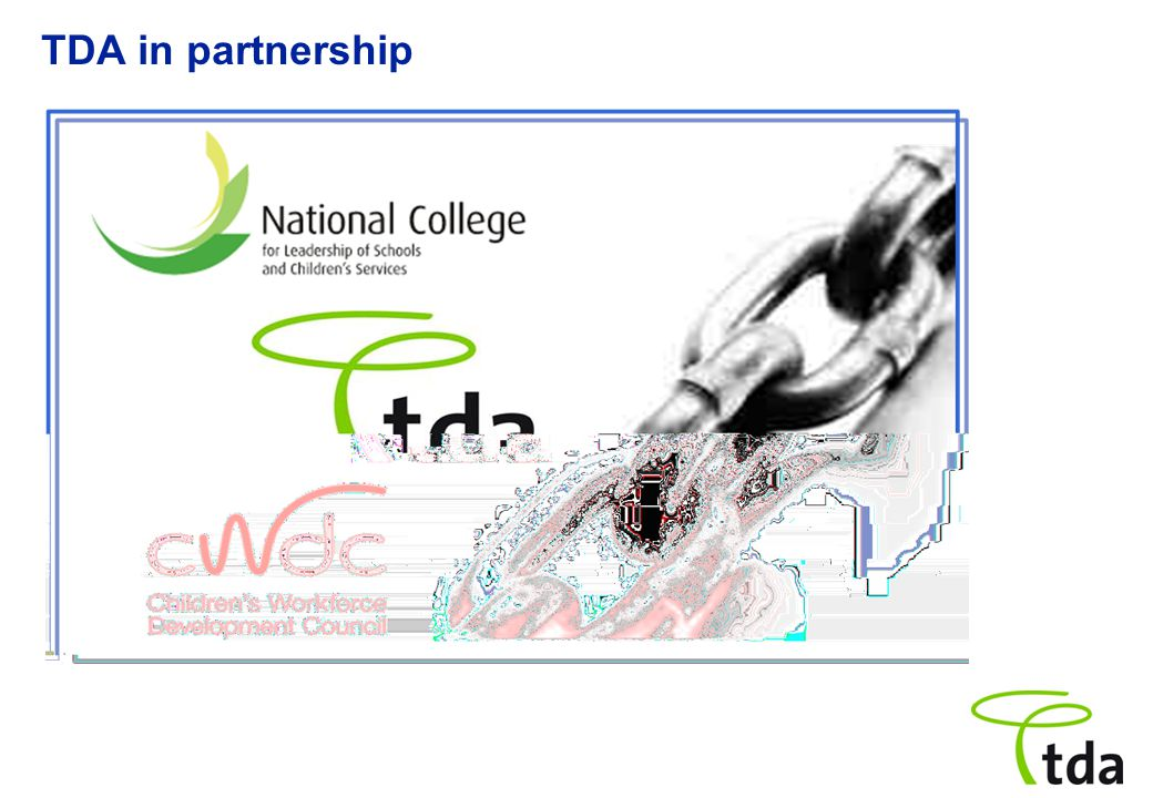 TDA in partnership