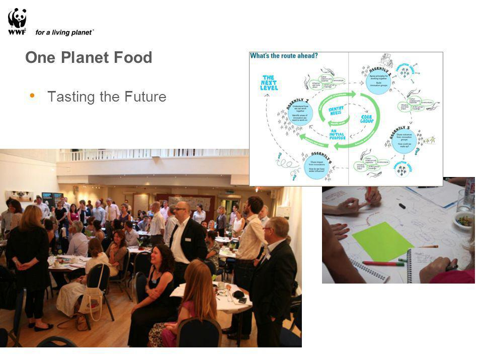 One Planet Food Tasting the Future