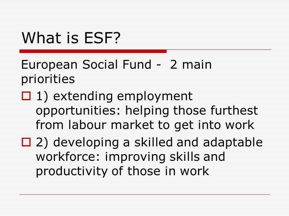 WEA role as ESF Grant Coordinating Body  Develop & manage ESF Community Grants Programme in NW on behalf of the Skills Funding Agency (SFA)  In partnership with Locality, VOLA & Community Matters  Develop & publicise application process: ensure programme supports and reaches the communities and individuals who most need it