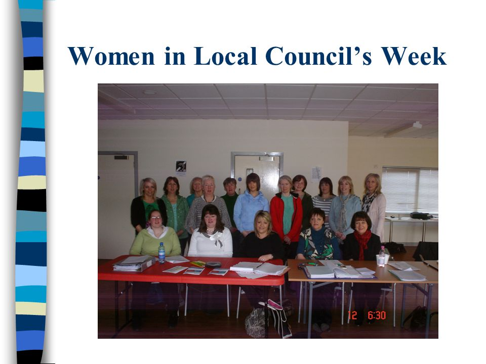 Women in Local Council's Week