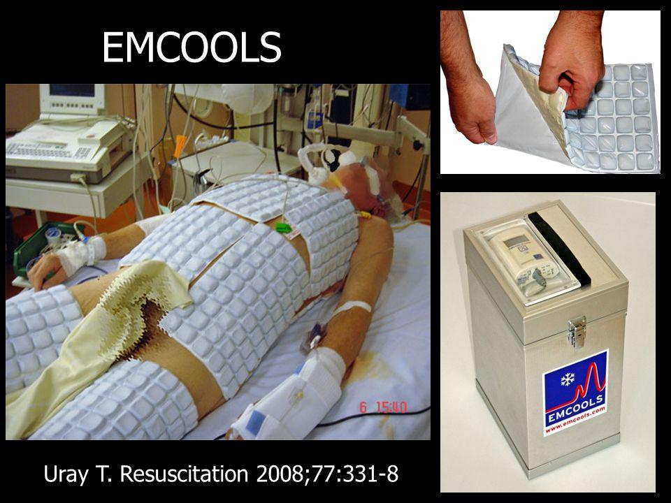 EMCOOLS Uray T. Resuscitation 2008;77:331-8