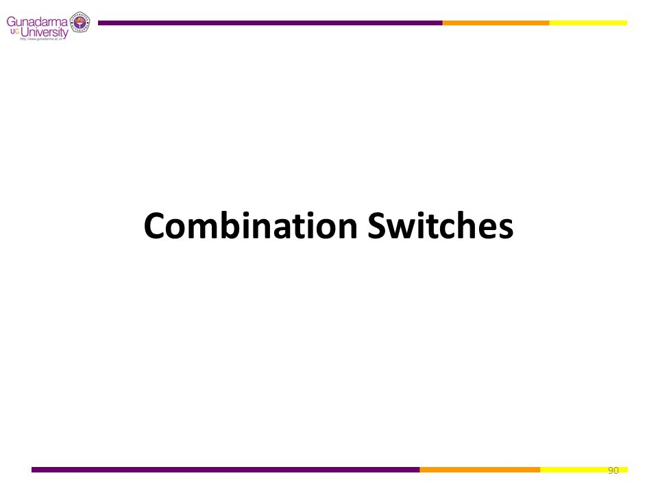 90 Combination Switches
