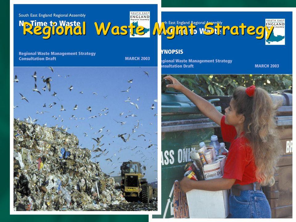 Regional Waste Mgmt Strategy