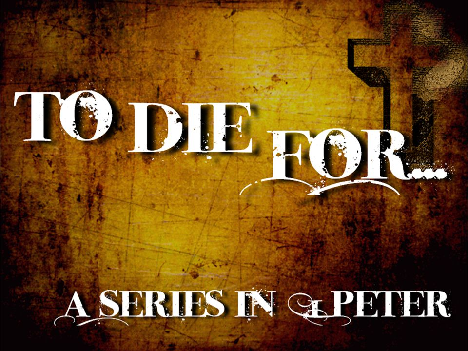 Living like there's no tomorrow! 1 Peter 4:7-11
