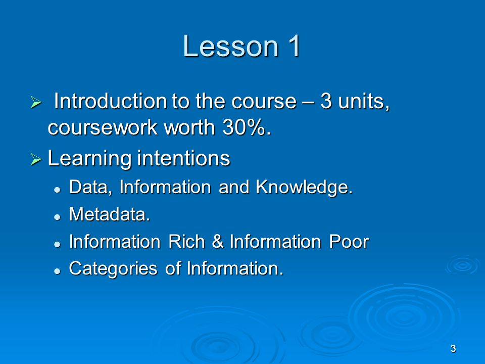 4 Introduction  Information and knowledge are so important that society can be divided up into two groups.