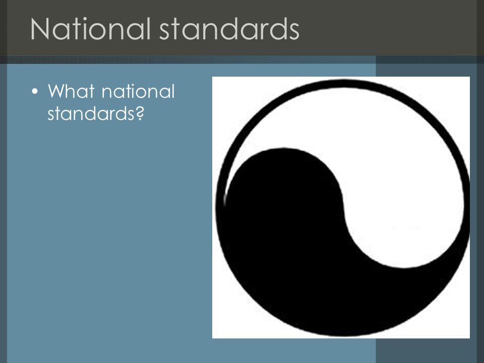 Service standards Standards for governor services