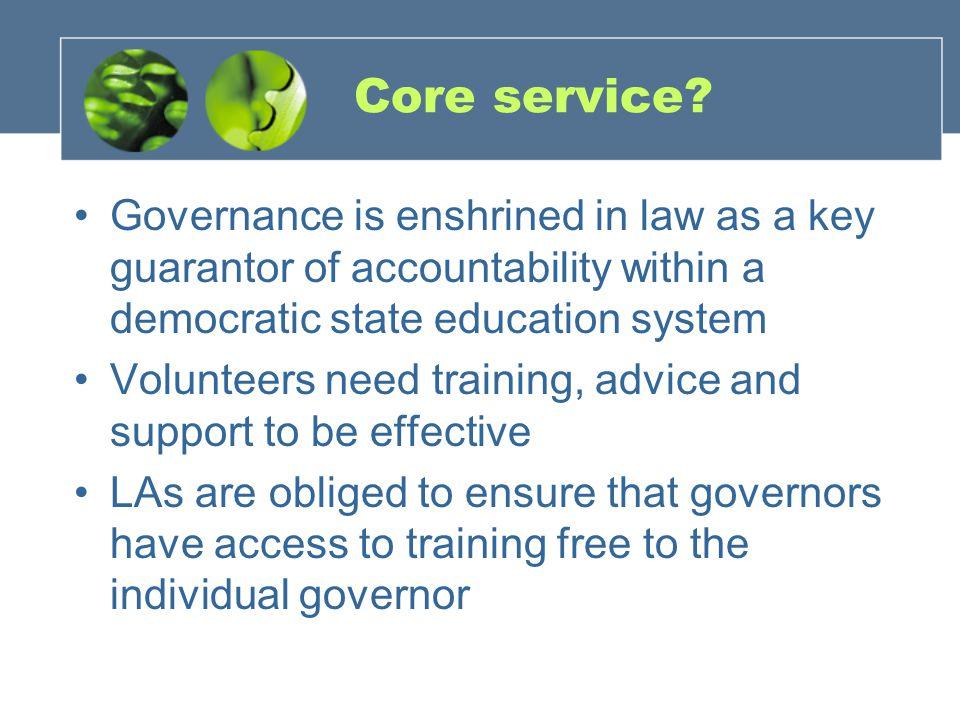 Core service.