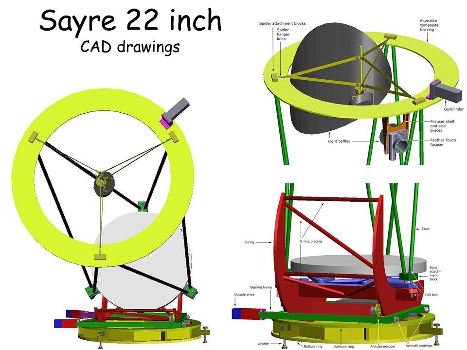 Sayre 22 inch CAD drawings