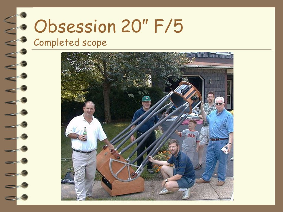 Obsession 20 F/5 Completed scope