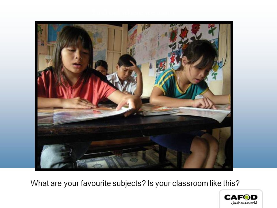 What are your favourite subjects Is your classroom like this Find out where we learn…