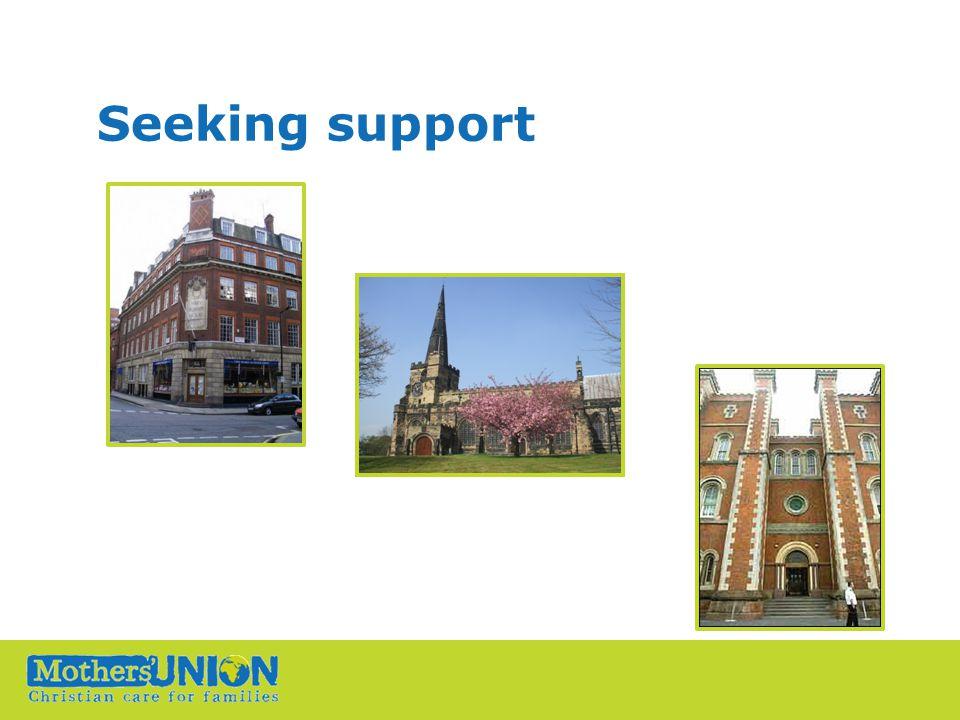 Seeking support