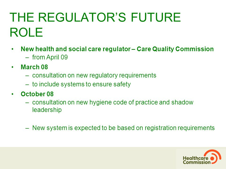 To regulate effectively we need to understand the views of patients and the public