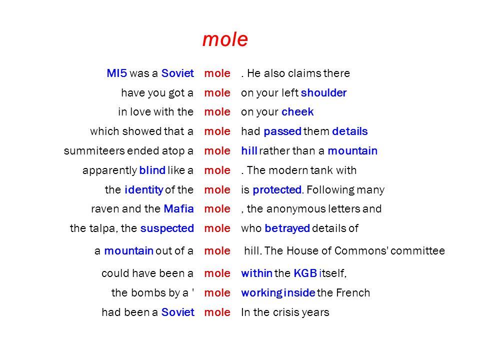mole MI5 was a Sovietmole.
