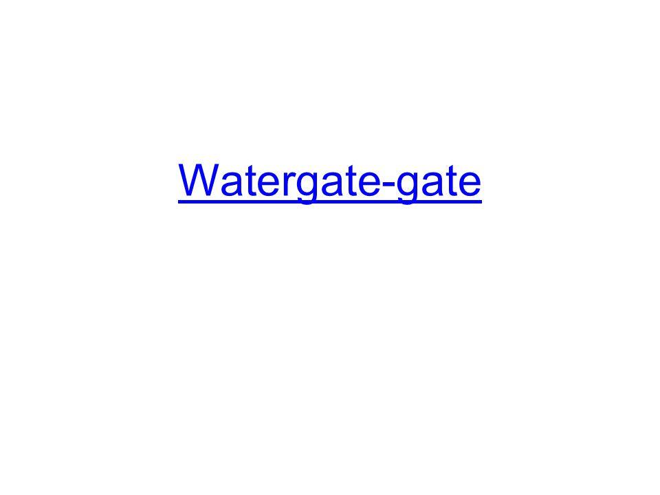 Watergate-gate