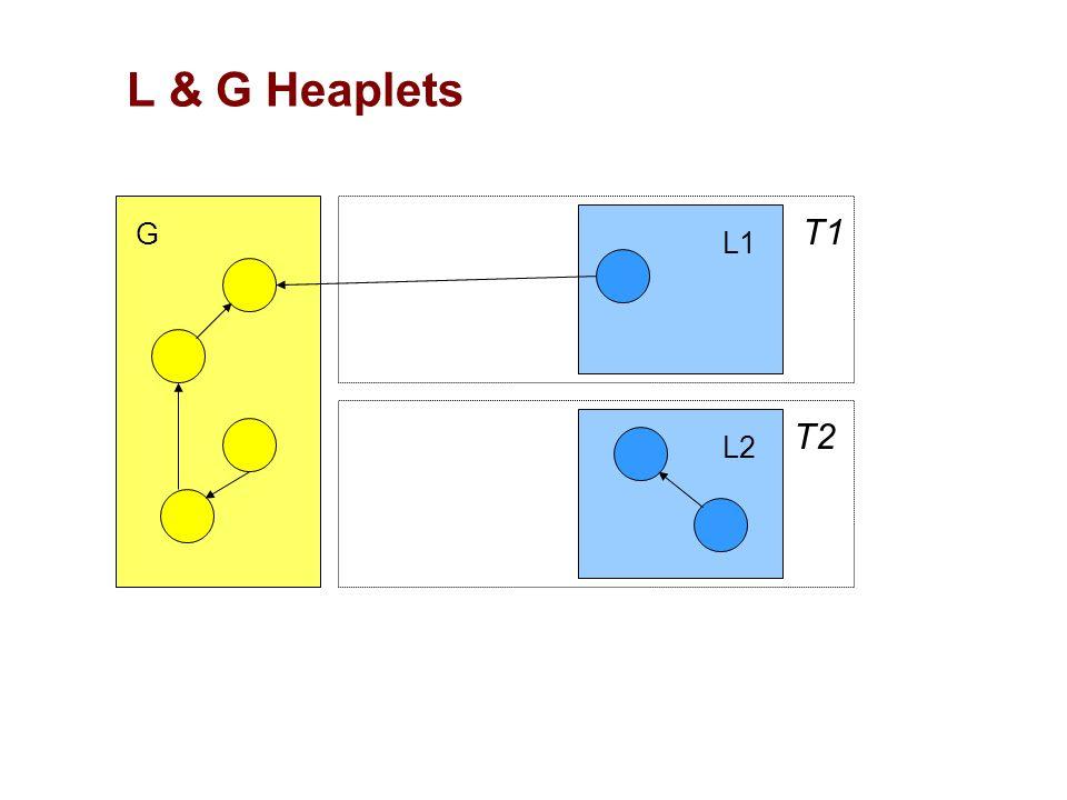 T1 T2 G L1 L2 L & G Heaplets