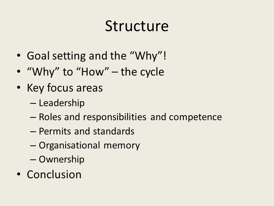 Roles and responsibilities How are roles and responsibilities assigned in your organisation.