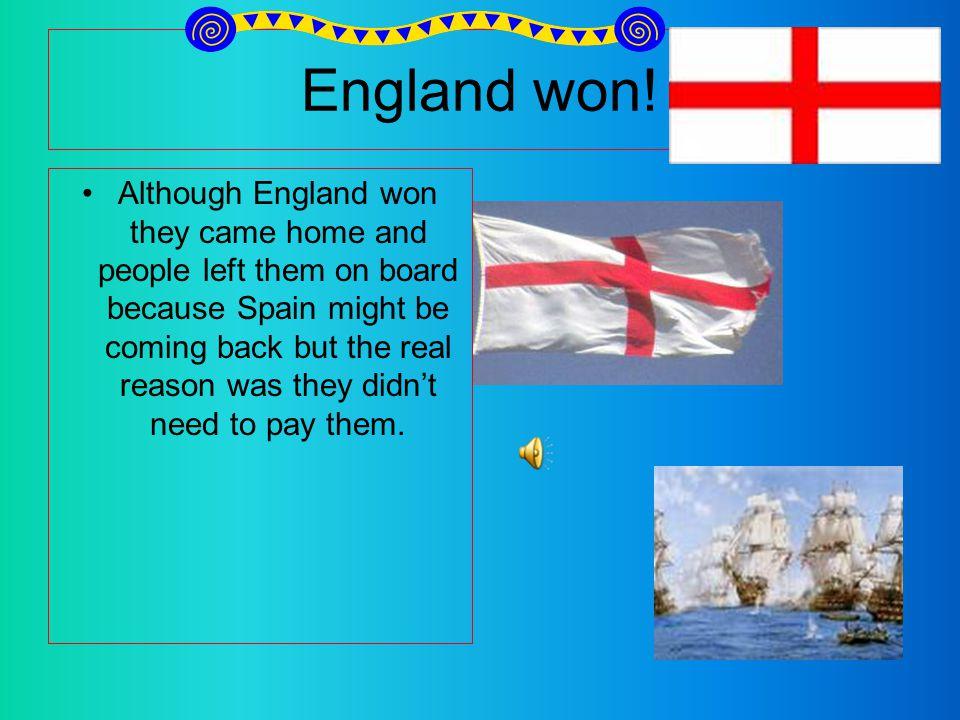 England won.