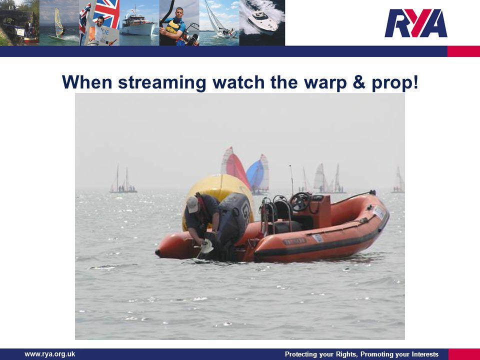 Protecting your Rights, Promoting your Interests When streaming watch the warp & prop!