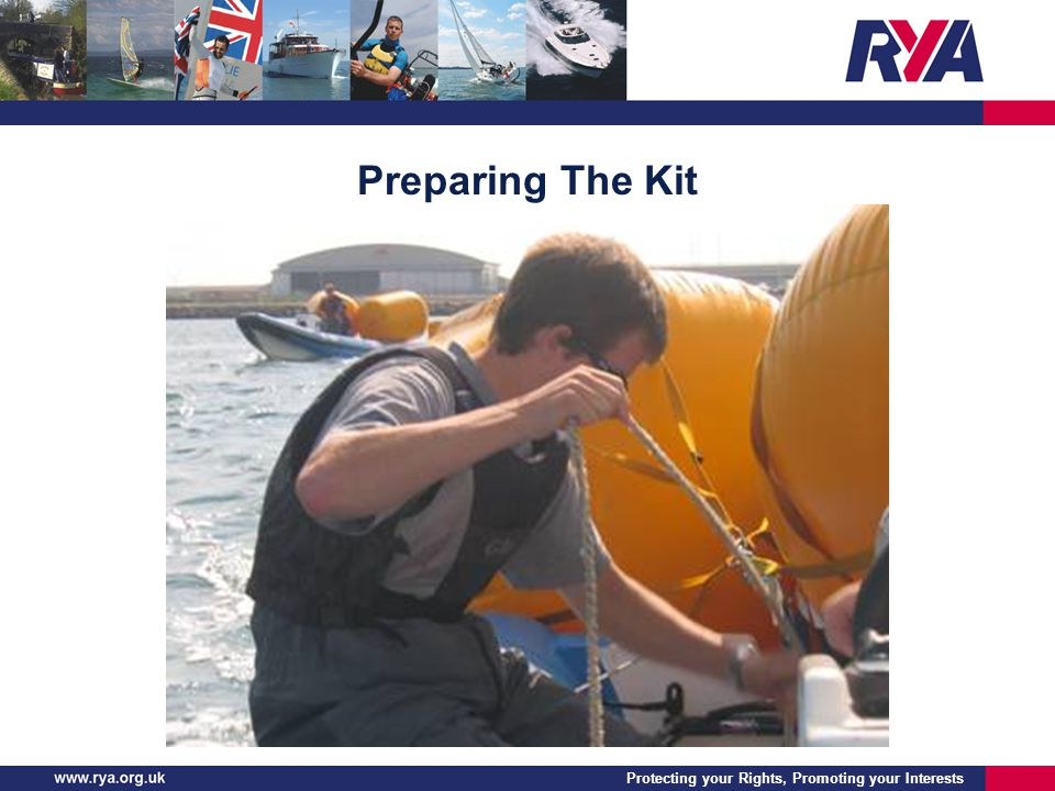 Protecting your Rights, Promoting your Interests Preparing The Kit