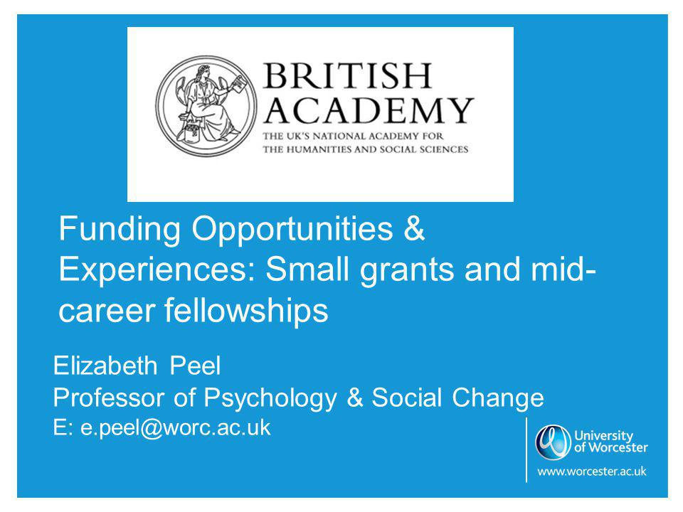 Small grants scheme Duties to Care: A socio-legal exploration of caring for people with dementia.