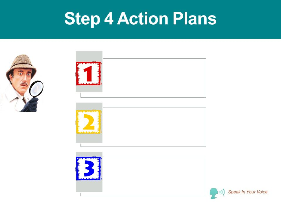 Step 4 Action Plans
