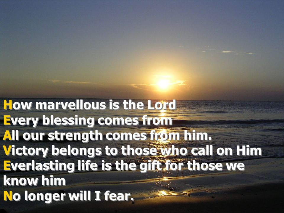 Holy is the Lord almighty Encouraging us to follow His ways Almighty yet gentle Victorious yet humble Everlasting God Now and present here with us Holy is the Lord almighty Encouraging us to follow His ways Almighty yet gentle Victorious yet humble Everlasting God Now and present here with us