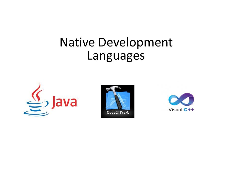 Native Development Languages