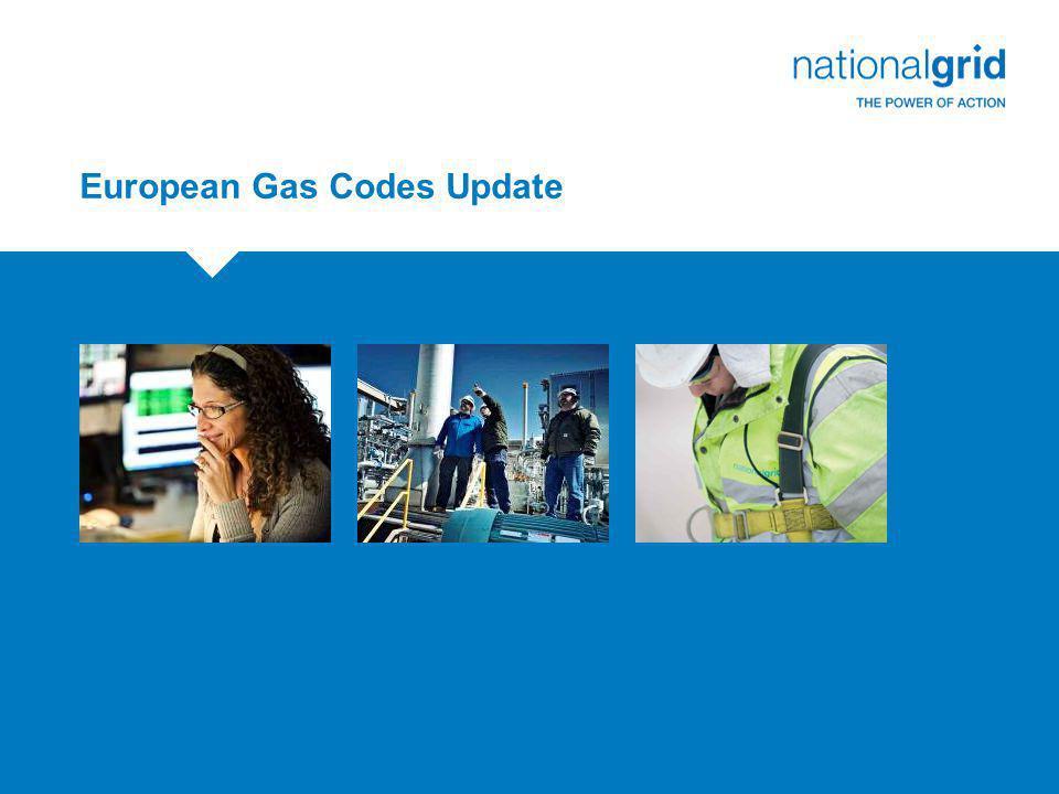European Gas Codes Update