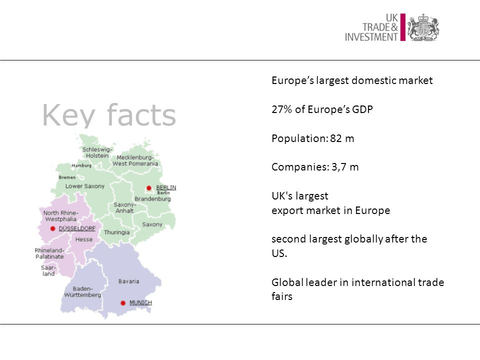 UK's major trading partners