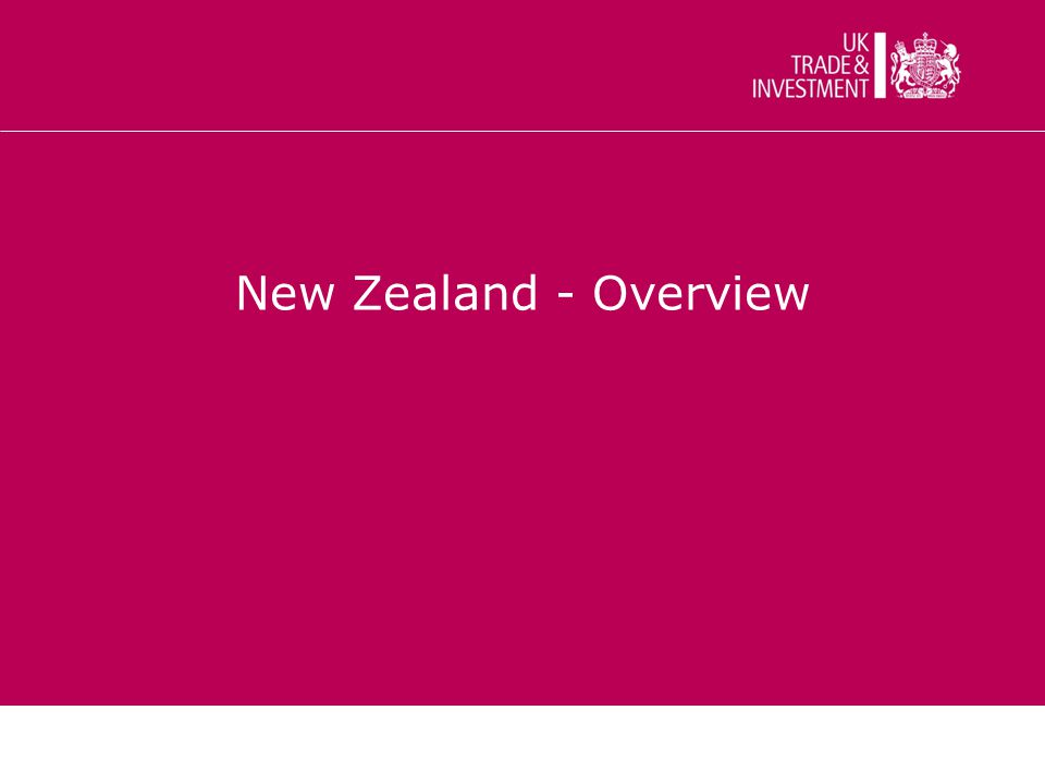 New Zealand - Overview