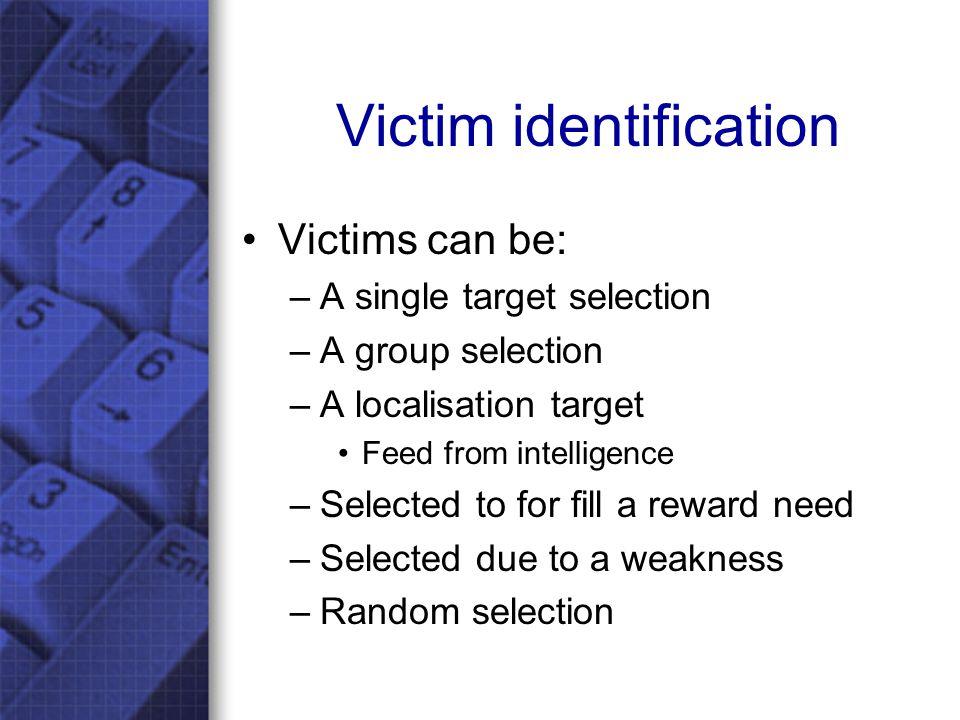 Pre-Contact Social Engineering model Reward Attack type Vs.