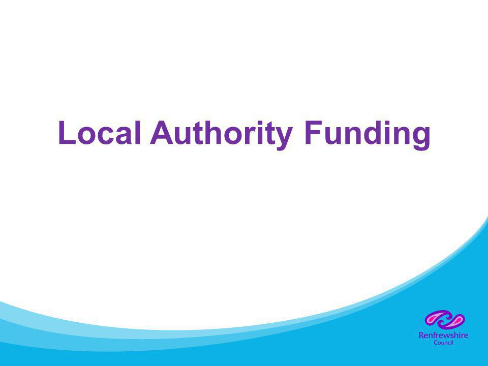 Local Authority Funding