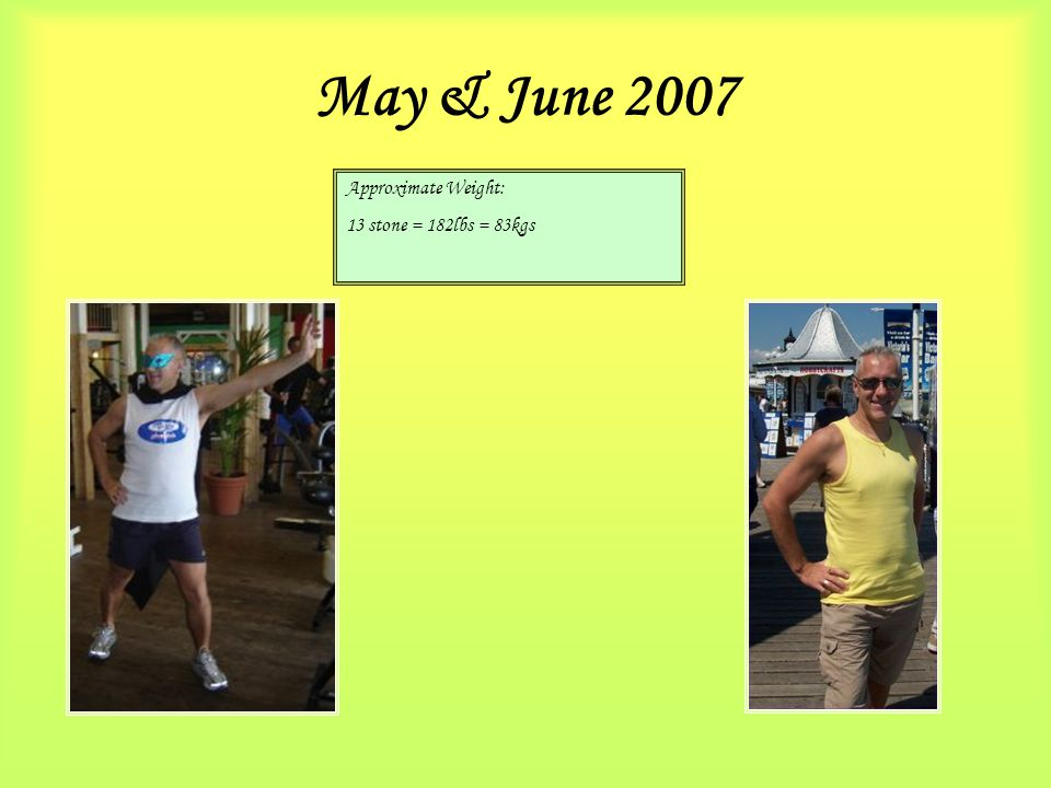 August in Egypt … Approximate Weight: 13 stone = 182lbs = 83kgs stability for the summer!!!