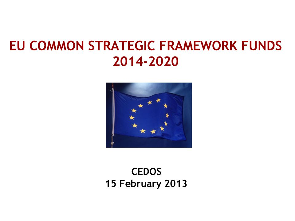 2 - CSF FUNDS 'ALLOCATED' TO THE UK - STRUCTURAL FUNDS, RURAL DEVELOPMENT & FISHERIES FUNDS EUROPEAN REGIONAL DEVELOPMENT FUND (£2.8 bn 2007-2013 England)  Innovation and knowledge based economy (incl commercialisation of research and technology transfer )  Stimulating enterprise and supporting SMEs  Sustainable Development & low carbon technologies  Building sustainable communities – incl regeneration 10 programmes in England managed by DCLG (previously RDAs) EUROPEAN SOCIAL FUND (£2.5 bn 2007-2013 for England)  Helping unemployed and inactive people into work (especially disadvantaged groups such as ex-offenders, young people NEET and unskilled people)  Improving workforce skills and redundancy support 1 English programme managed by DWP