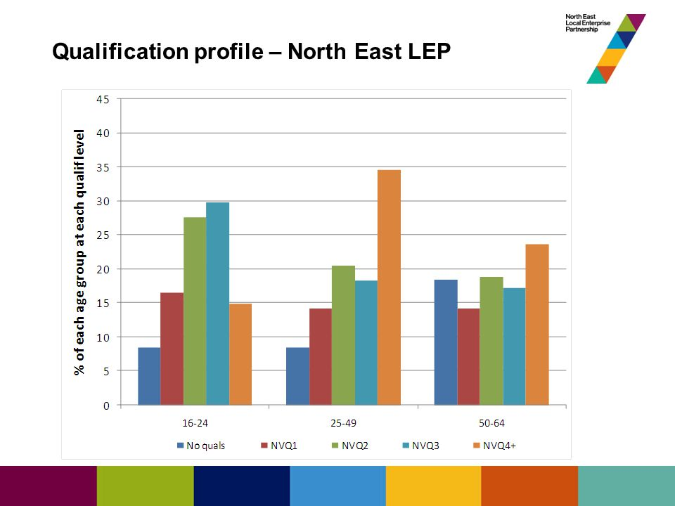 State of the North East Economy Qualification profile – North East LEP
