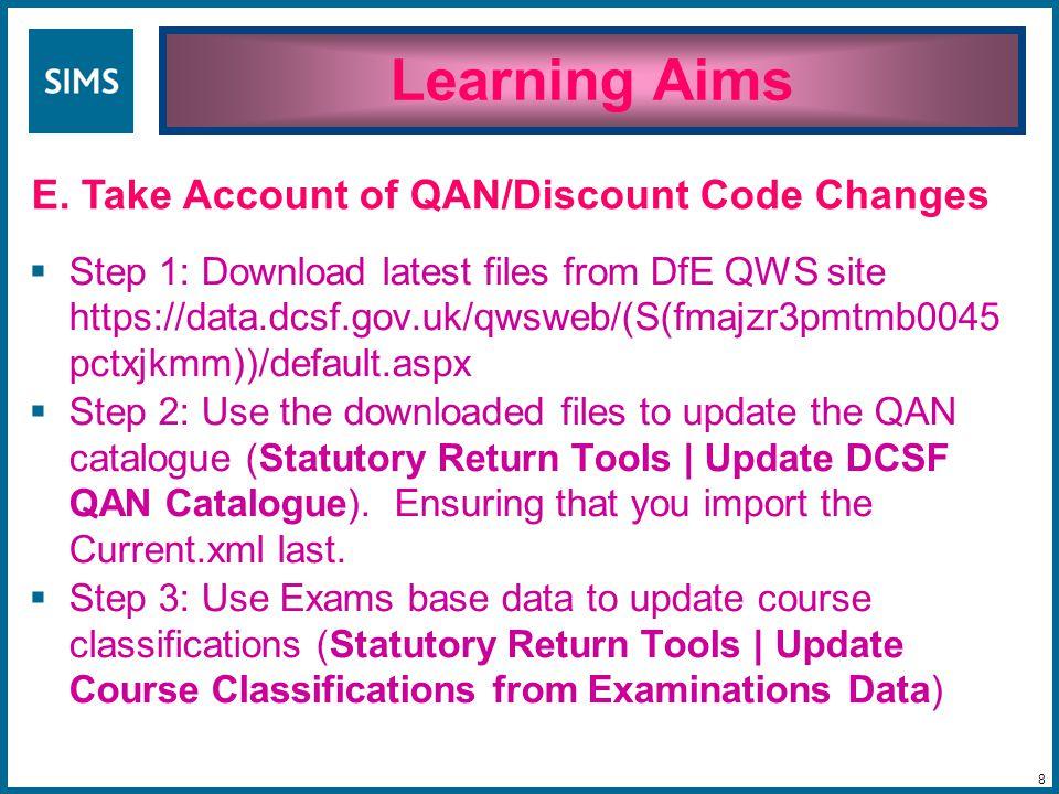 Exam QAN is 5002640..... while Learning Aim QAN is 1003630. The QANs don't match. 49