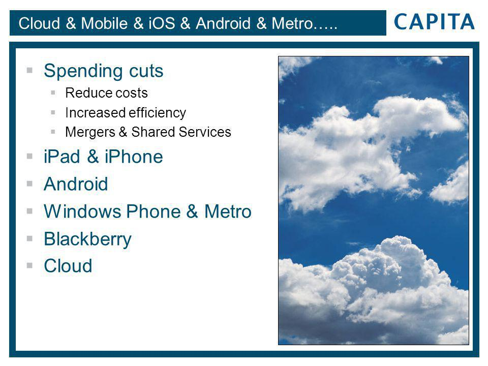 Cloud & Mobile & iOS & Android & Metro…..