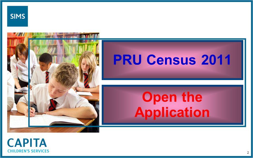 PRU Census 2011 Summary Report 83