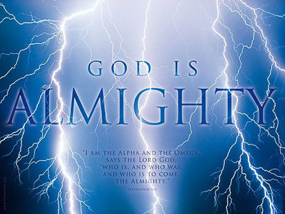 Here is your God Isaiah 40 The God who must not be underestimated