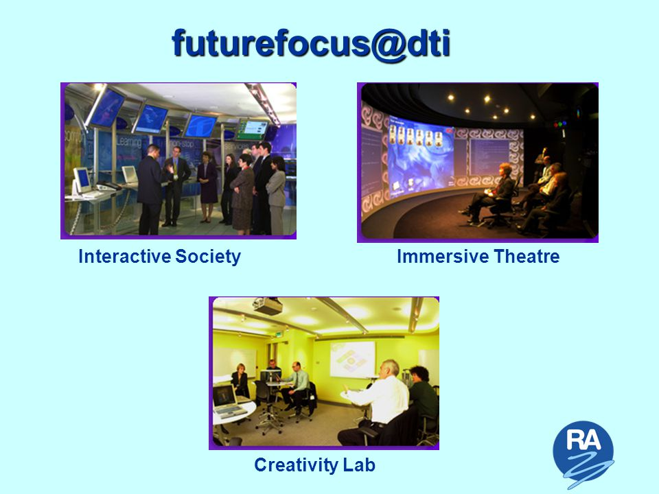 futurefocus@dti Interactive SocietyImmersive Theatre Creativity Lab