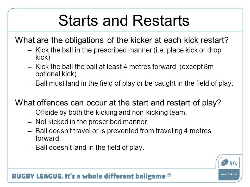 Penalties Common Sense is the key.
