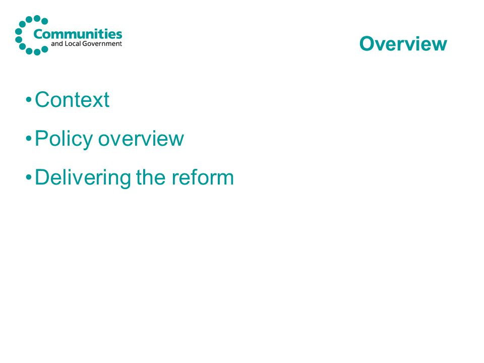 The policy overview: Vulnerable people Government has published guidance on existing local authority responsibilities in relation to vulnerable people, which they may wish to take into account in contemplating their schemes.