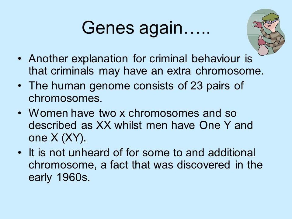 Genes again…..